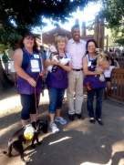 Mayor Kevin Johnson and friends from the Front St. Animal Shelter
