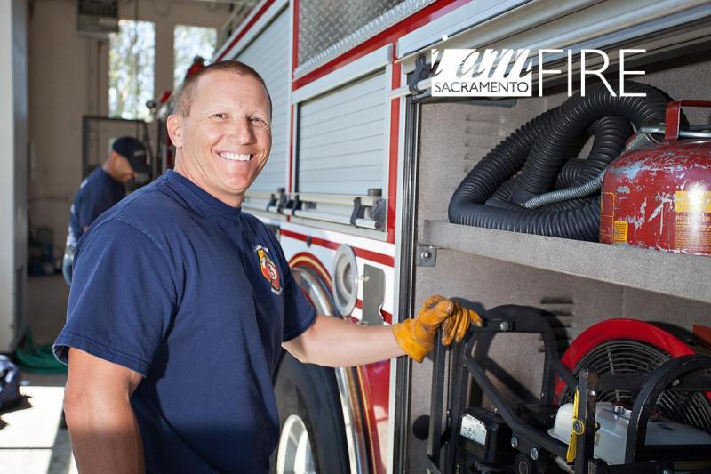 Firefighter Robert Wenzler
