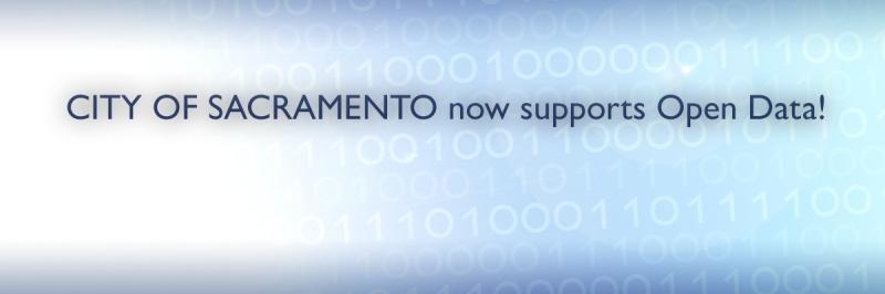 City of Sacramento no supports Open Data!