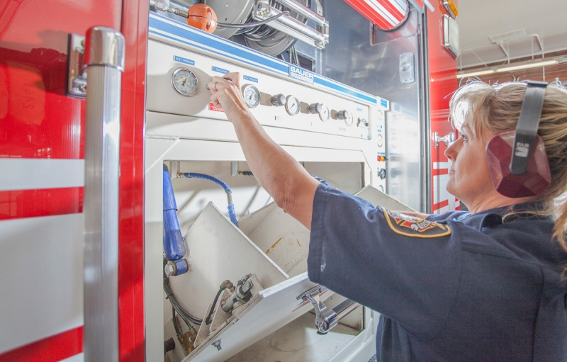 Avis performing equipment checks