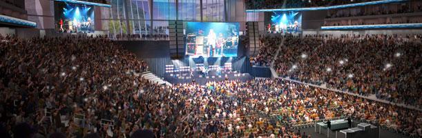 concert view