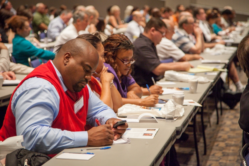 More than 400 business owners filled the Sacramento Convention Center for the 2013 Sacramento Business First event.