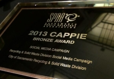 2013 CAPPIE Bronze award for Social Media Campaign