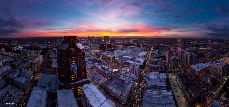 City nightscape, Photo courtesy of Justin Majeczky, 2014