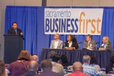 Sacramento Business First panel answering questions