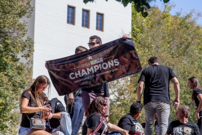 Republic FC championship celebration