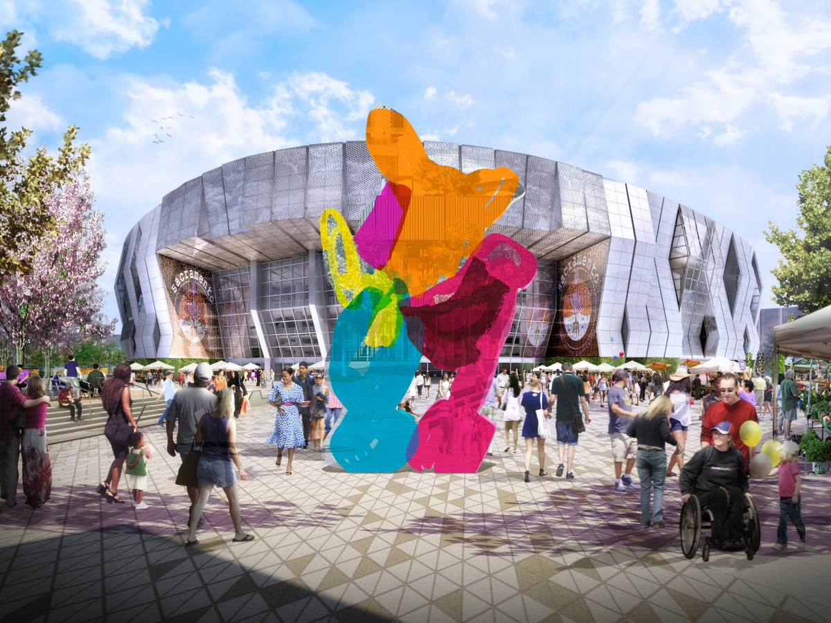 City Council approves Jeff Koons' Coloring Book for new arena plaza, $1.5  million for public art created by regional artists – City Express