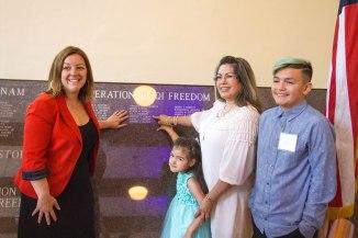 Sacramento Memorial Auditorium enter names of fallen soldiers
