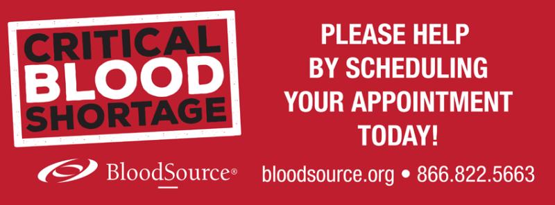 BloodSource Blood Donations, Sacramento