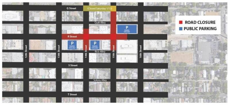 R street Closure