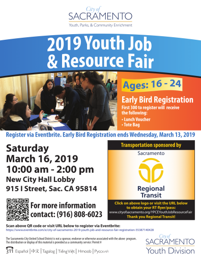 YouthJobResourceFair Flyer